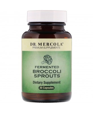Fermented Broccoli Sprouts (30 Capsules) - Dr. Mercola