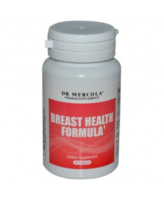 Dr. Mercola, Premium Supplements, Breast Health Formula, 30 Capsules