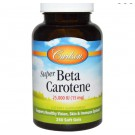 Super Beta Carotene 25.000 IU (15 mg) (250 Softgels) - Carlson Labs