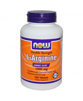 L-Arginine 1000 mg (120 Tablets) - Now Foods