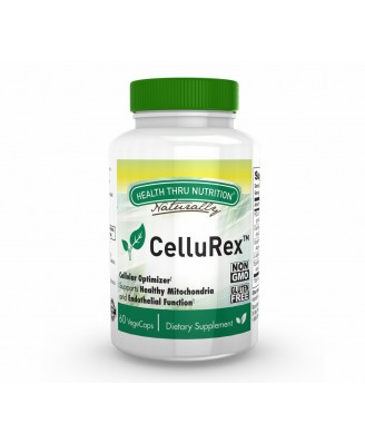 CelluRex™ (with PQQ, CoQ-10 and More) (60 Vegicaps) - Health Thru Nutrition
