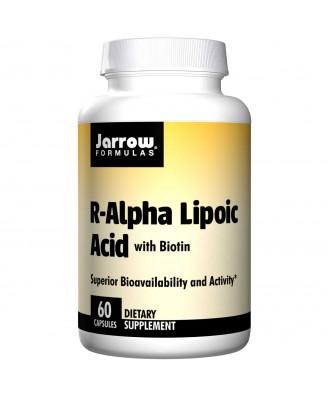 Jarrow Formulas, R-Alpha Lipoic Acid, with Biotin, 60 Capsules