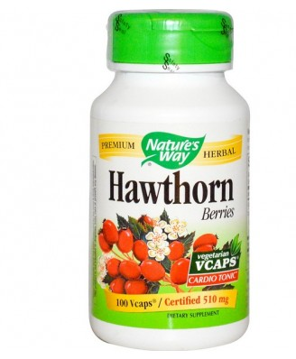 Hawthorn Berries (100 vegetarian capsules) - Nature's Way