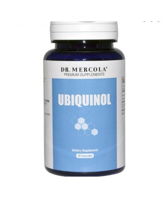 Dr. Mercola, Ubiquinol, Enhanced Bioactivity CoQ10, 100 mg, 30 Licaps Capsules