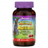 Rainforest Animalz- Whole Food Based Multiple- Natural Grape Flavor (180 chewable tablets) - Bluebonnet Nutrition