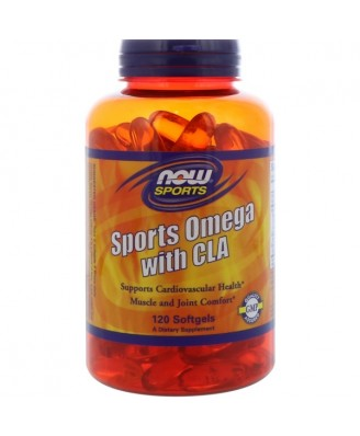 Sports Omega with CLA (120 softgels) - Now Foods