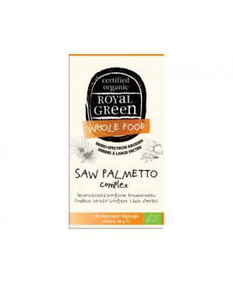 Saw Palmetto Complex Organic – 60 vcaps – Royal Green