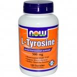 Now Foods, L-Tyrosine, 500 mg, 120 Capsules