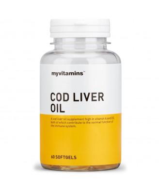 Cod Liver Oil (180 Softgels) - Myvitamins