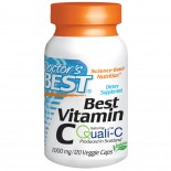 Doctor's Best, Vitamin C, European Quali-C, 1,000 mg, 120 Veggie Caps