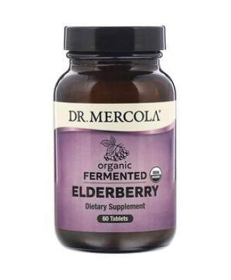 Organic Fermented Elderberry 60 Tablets - Dr. Mercola