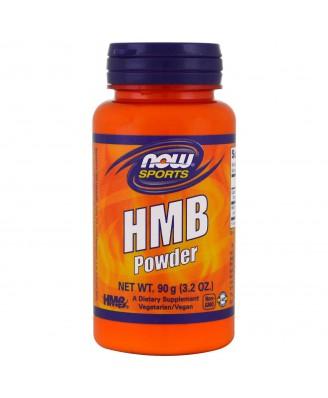 HMB Powder (90 gram) - Now Foods