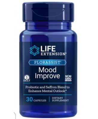 Florassist Mood Improve (30 Capsules) - Life Extension