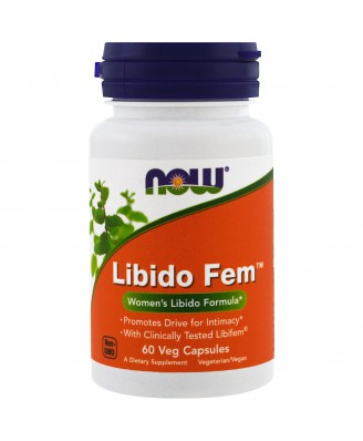 Libido Fem (60 Vegetarian Capsules) - Now Foods