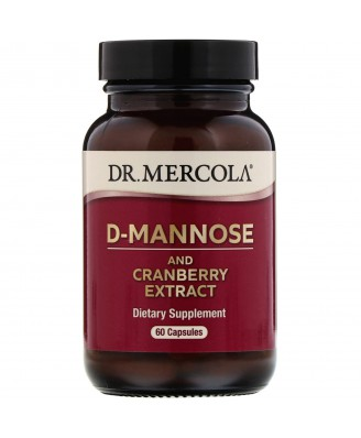 D-Mannose met Cran-Gyn DDS (30 Capsules) - Dr. Mercola