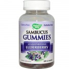 Sambucus Gummies, Standardized Elderberry, 60 Gummies - Nature's Way