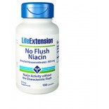 No Flush Niacin (Inositol Hexanicotinate) 800 Mg - 100 Capsules - Life Extension