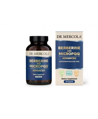 Dr Mercola Berberine & MicroPQQ Advanced - 90 capsules
