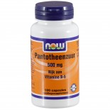 Pantotheenzuur 500 mg (B-5) (100 capsules) - Now Foods