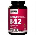Methylcobalamine B12, 5000 mcg (60 Lozenges) - Jarrow Formulas