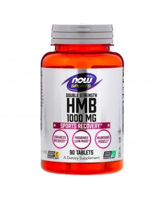 HMB - Double Strength 1.000 mg (90 tablets) - Now Foods