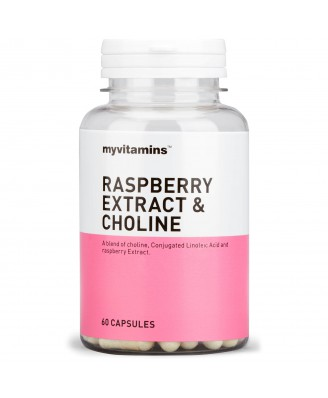 Raspberry Extract & Choline (180 Tablets) - Myvitamins