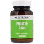 Dr. Mercola,  Folate, 5 mg, 30 Capsules