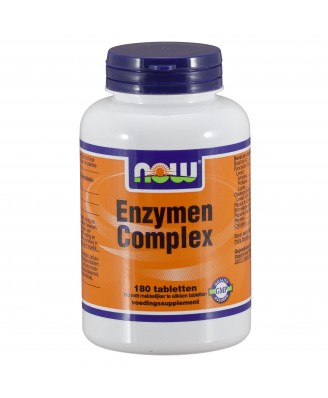 Enzymen Complex (180 tabletten) - Now Foods