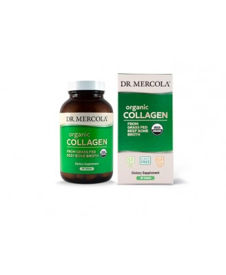 Collagen from Grass Fed Beef Bone Broth (90 capsules) - Dr. Mercola
