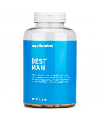 Best Man (120 Tablets) - Myvitamins