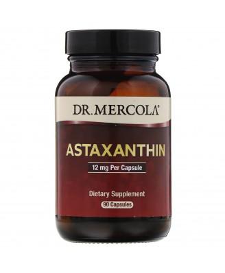 Astaxanthin 12 mg (90 Capsules) - Dr. Mercola