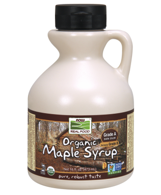 Now Foods, Organic Maple Syrup, Grade B, Deep Rich Flavor, 16 fl oz (473 ml)