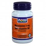Melatonine 3 mg met Vitamine B6 (90 zuigtabs) - NOW Foods