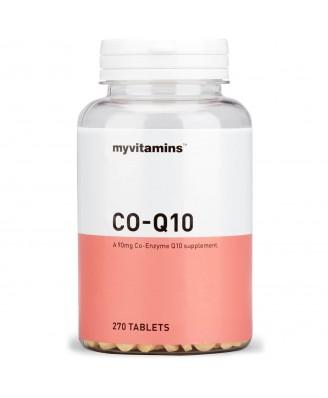 Myvitamins Co-Q10, 270 Tablets (270 Tablets) - Myvitamins