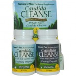 Candida Cleanse, 7 Day Program, 2 Bottles, 28 Capsules Each ( ) - Nature's Plus