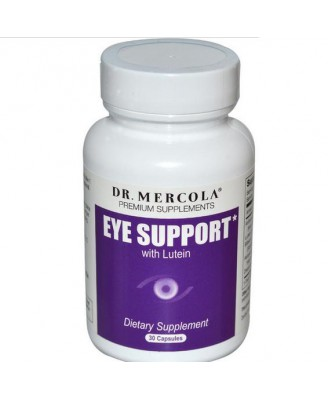 Dr. Mercola, Premium Supplements, Eye Support, with Lutein, 30 Capsules