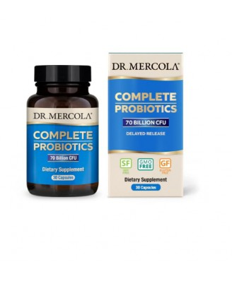 Complete Probiotica, 70 miljard CFU's (30 Capsules) - Dr. Mercola