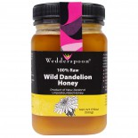 Wedderspoon Organic, Inc., 100% Raw Wild Dandelion Honey, 17.6 oz (500 g)