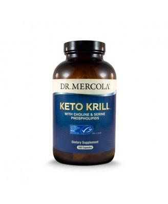 Keto Krill 180 Capsules - Dr Mercola