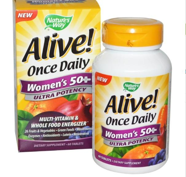 Nature S Way Alive Once Daily Multi Vitamin