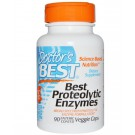 Doctor's Best, Best Proteolytic Enzymes, 90 Enteric Coated Veggie Caps