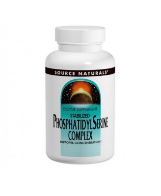 Source Naturals, Stabilized Phosphatidyl Serine Complex, 500 mg, 60 Softgels