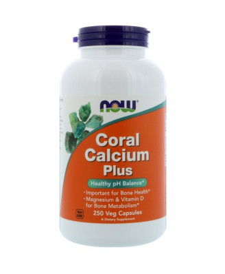 Now Foods, Coral Calcium Plus, 250 Veggie Caps