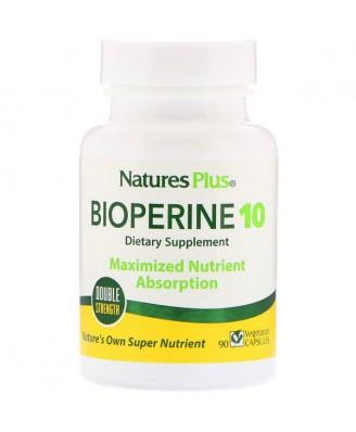 Bioperine 10 (90 Vegetarian Capsules) - Nature's Plus