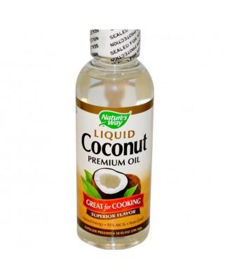 Nature's Way, Liquid Coconut Premium Oil, 10 fl oz (296 ml)