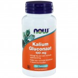 Now Foods, KALIUMGLUCONAAT, 99 mg, 100 tabletten