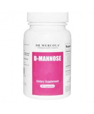 Dr. Mercola, D-Mannose, with Cran-Gyn DDS, 30 Capsules