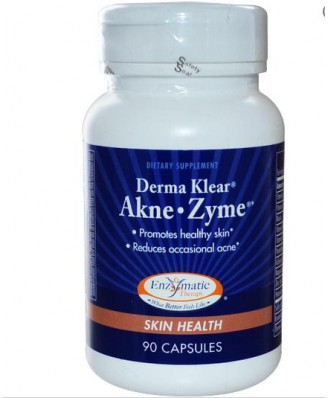 Enzymatic Therapy, Derma Klear Akne • Zime, Skin Health, 90 Capsules