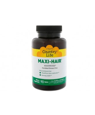 Maxi-Hair (90 Tablets) - Country Life