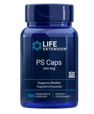 Life Extension, PS Caps, 100 mg, 100 Veggie Caps